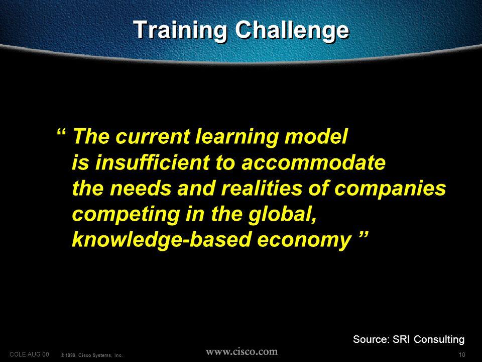 11 COLE AUG 00 © 1999, Cisco Systems, Inc.