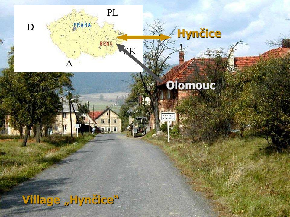 """page 4 Village """"Hynčice Hynčice D SK PL A"""