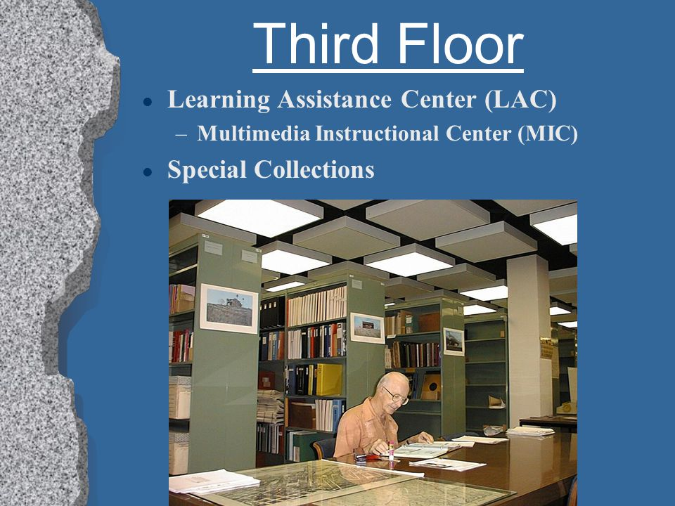 Third Floor l Circulating Book Collection l Computer Lab