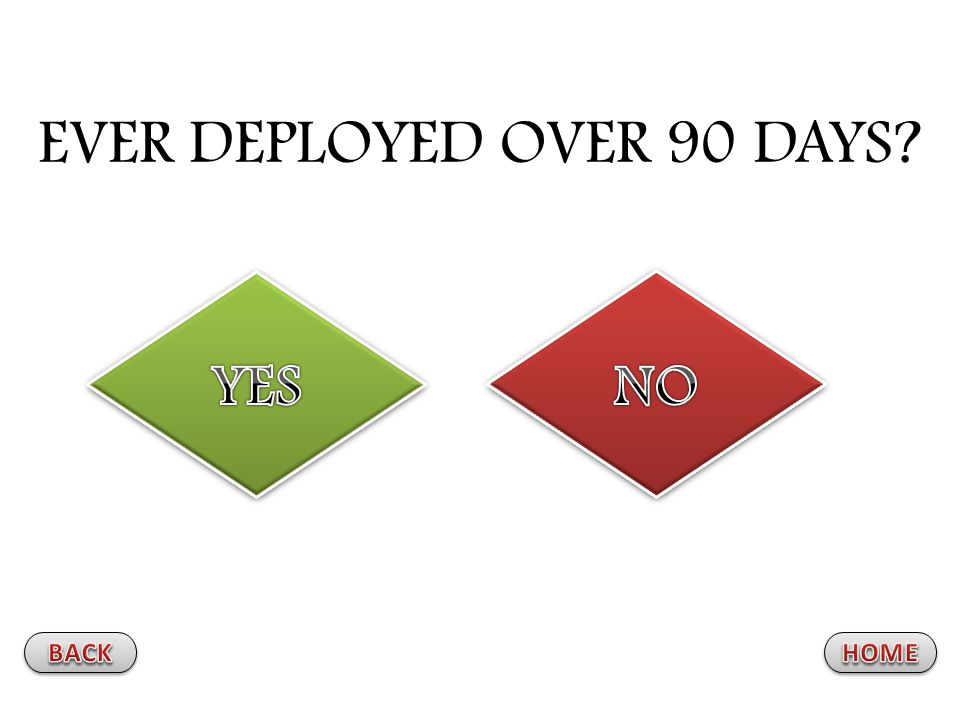 EVER DEPLOYED OVER 90 DAYS