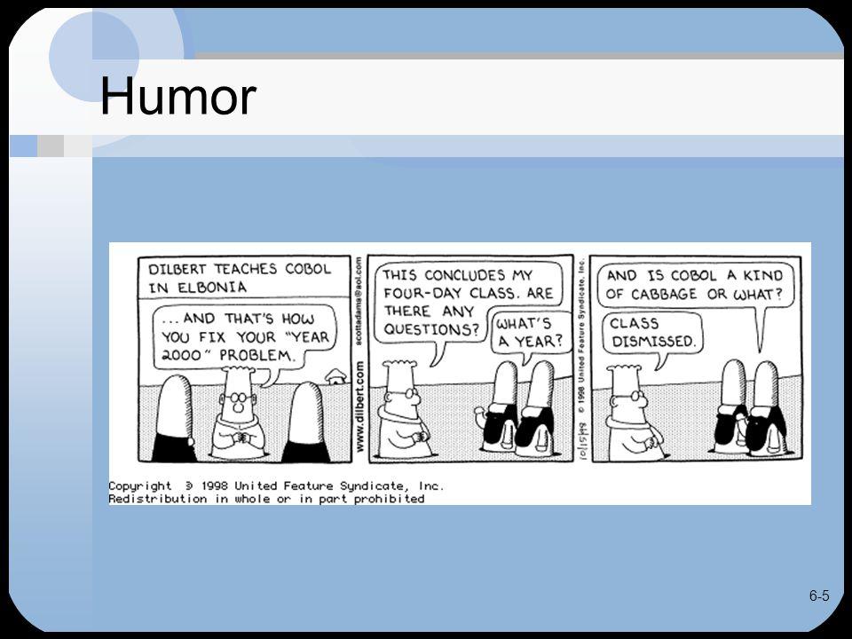6-5 Humor