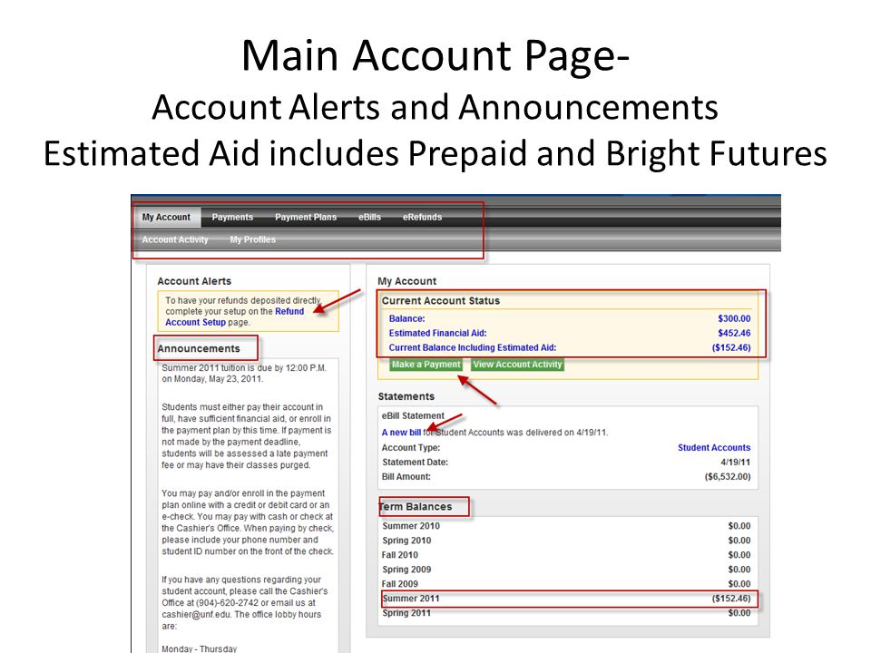 Account Payment: