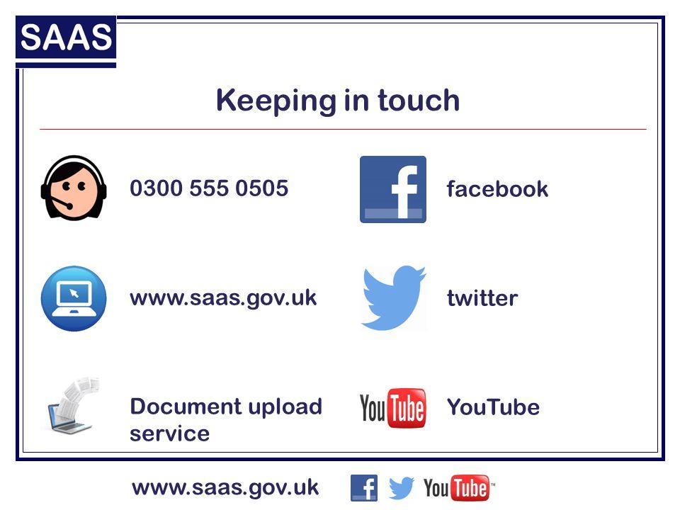 www.saas.gov.uk To request a speaker or information booklets email: saasevents@scotland.gsi.gov.uk