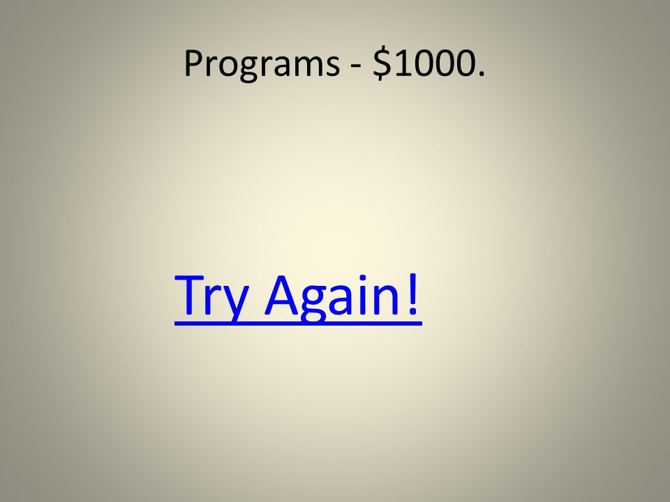 Programs - $1000. CADD is a course in which program: A.