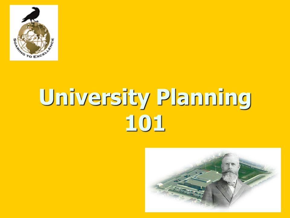 University Planning 101