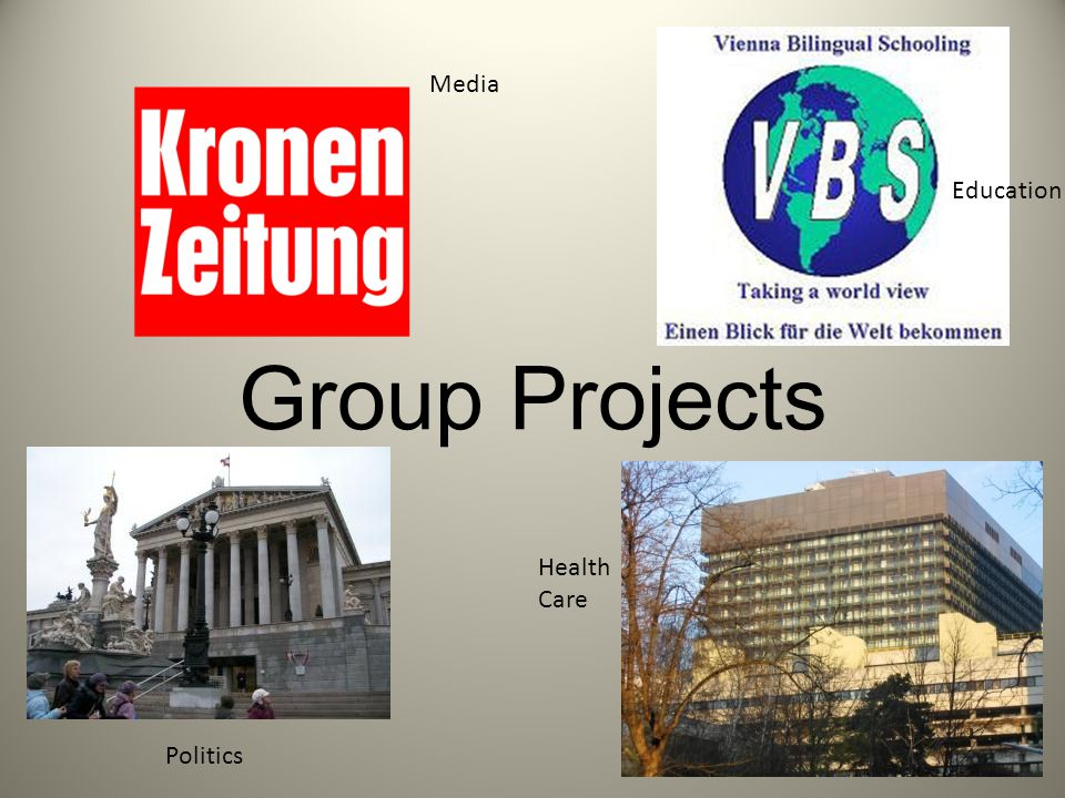 Group Projects Media Education Politics Health Care