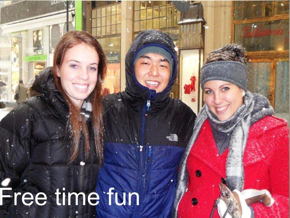 Free time fun