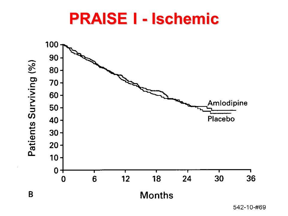 542-10-#69 PRAISE I - Ischemic