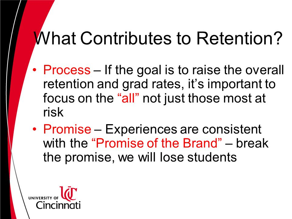 What Contributes to Retention.
