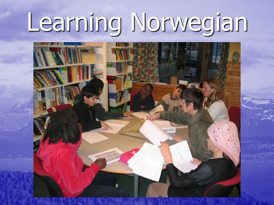 Learning Norwegian