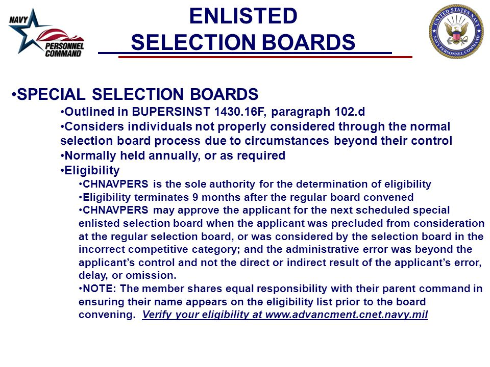 MEMBERSHIP CONSIDERATIONS Board Member composition will be determined by: –Source Rating –Demographics of eligible candidates before the board, taking into consideration: Race Gender Geographic Location Community (i.e.