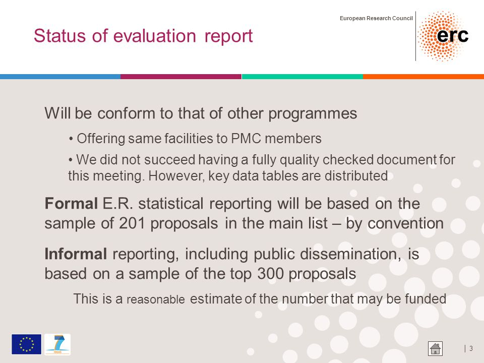 European Research Council │ 4 Key data- number of proposals by evaluation step 9167 8794 559 554 547 368 ineligible 5 withdrawn 8235 rejected 5 not submitted to second stage 2 passed away, 4 ineligible 1 withdrawn Submitted stage 1 Evaluated stage 1 Selected stage 1 Submitted stage 2 Evaluated stage 2 201 in main list 116 in reserve list 113 reserve: reject for no budget 117 rejected: below thresholds