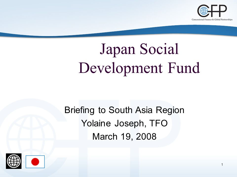 2 JSDF Briefing Overview Introduction JSDF Regular Program: Application Form Selection Criteria Ineligible Activities/Expenditures Pointers – what to remember when working on the proposal Japanese Visibility Common Reasons for Rejection of Proposals Concept Note JSDF Seed Fund Case Studies of Approved and Rejected Proposals Most Common Issues and Bottlenecks in Projects Design and Implementation Example of Well Designed Projects in Other Regions Reference and Contact Information