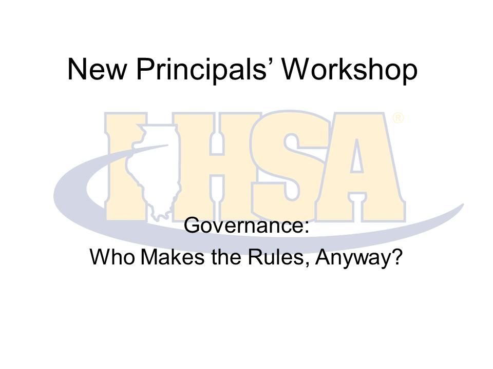 Background The IHSA governs the equitable participation in interscholastic athletics and activities that enrich the educational experience.