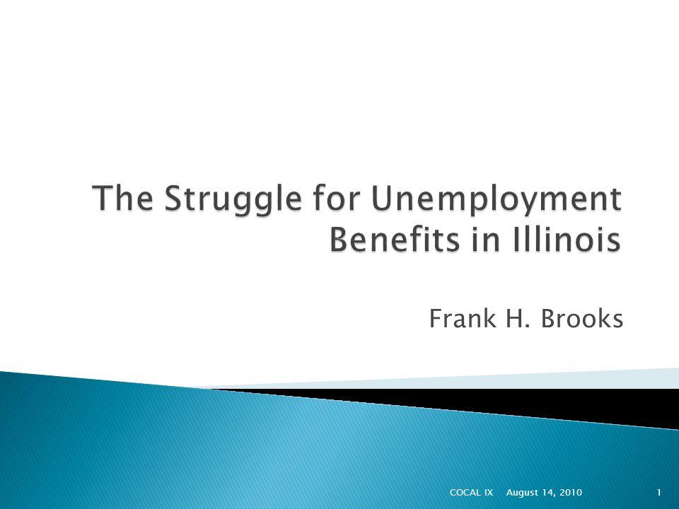 Frank H. Brooks August 14, 20101COCAL IX