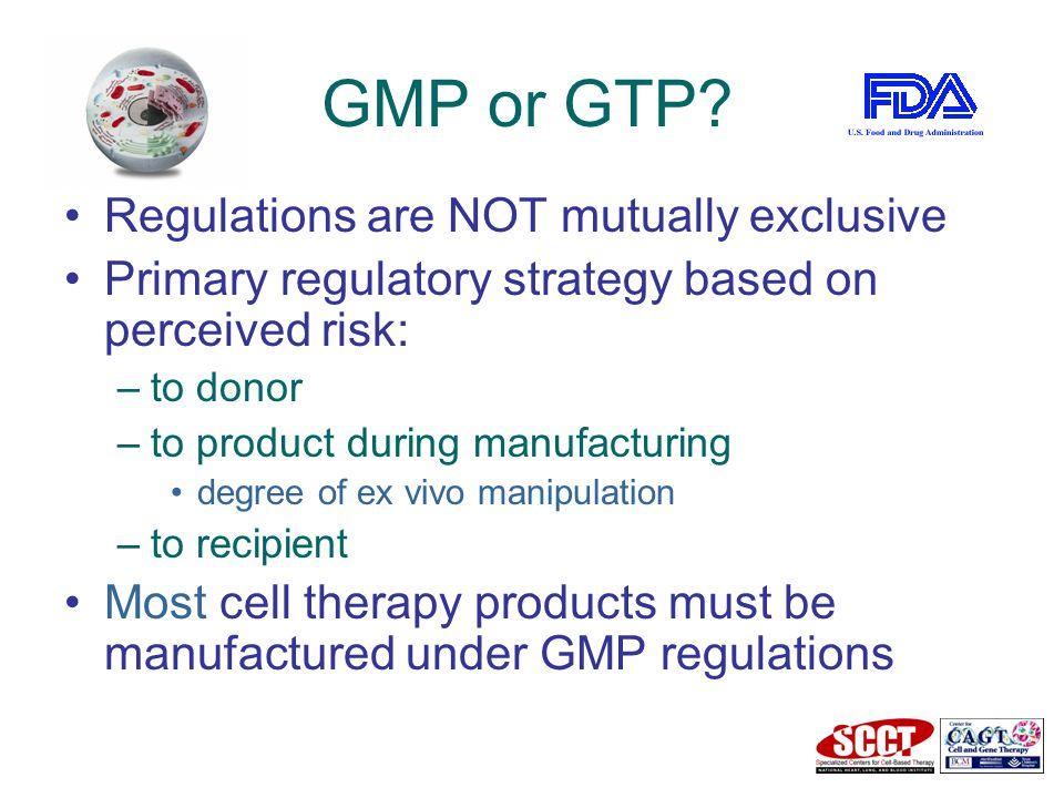 GMP or GTP.