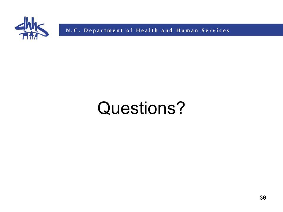 36 Questions?