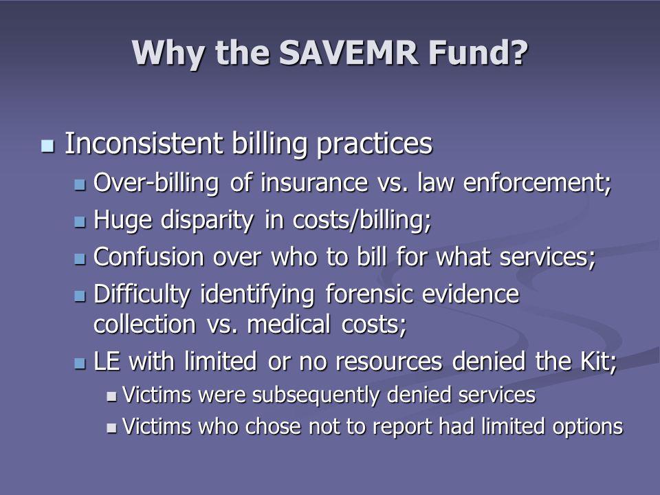 Why the SAVEMR Fund.
