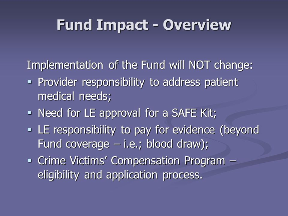 Fund Context SATF - SANE - SART AG's Sexual Assault Task Force (SATF) AG's Sexual Assault Task Force (SATF) Working to improve the response to sexual assault.