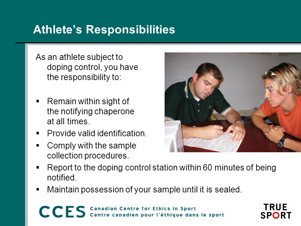 CCES Position on Supplement Use  The CCES does not promote the use of supplements, yet recognizes that some athletes choose to use them.