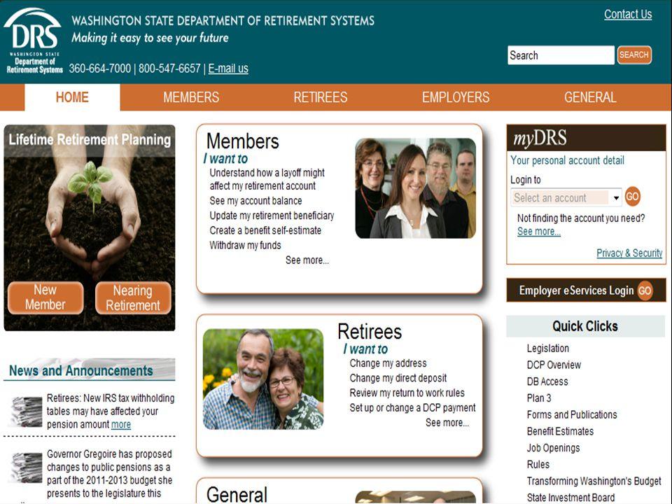 92 DRS Web site