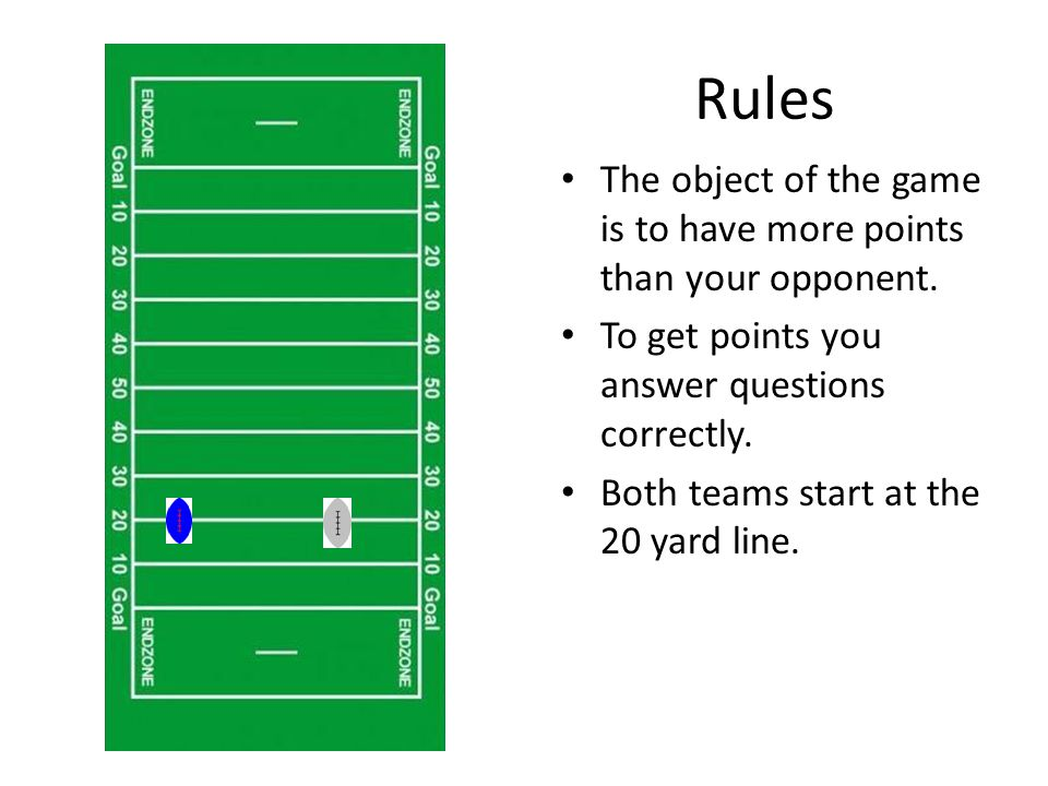 Rules Each team has two opportunities to get a question correct.