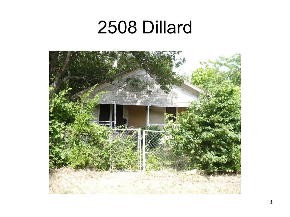 14 2508 Dillard