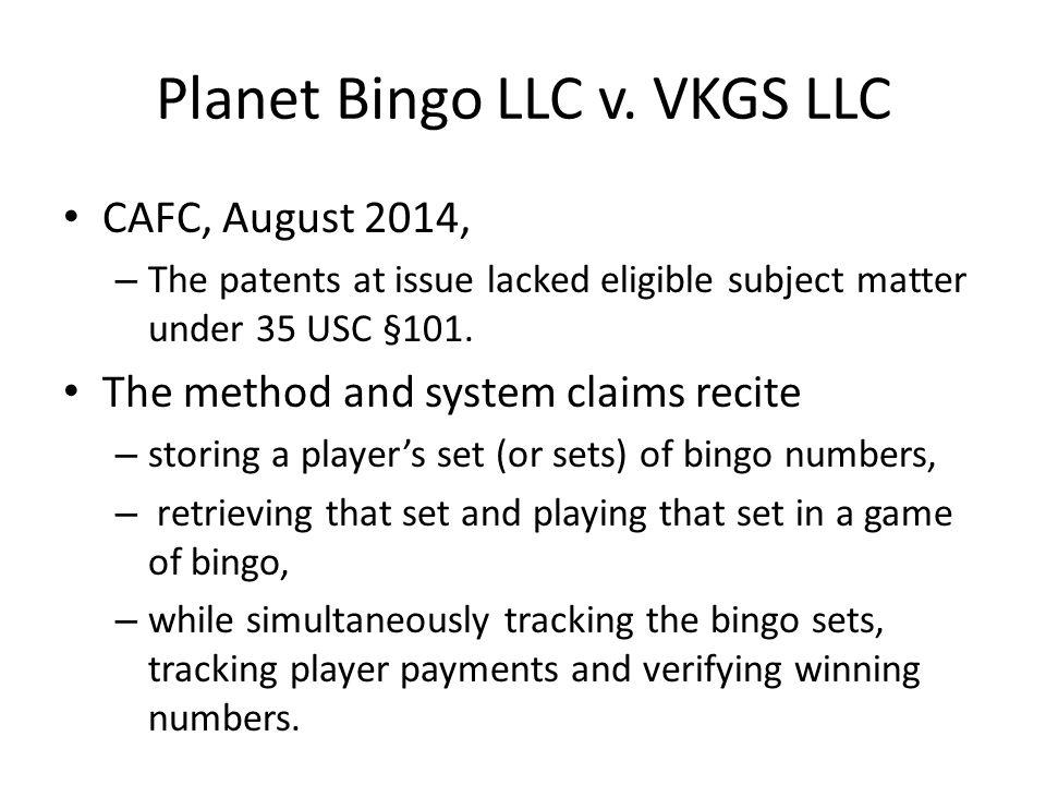 Planet Bingo LLC v.