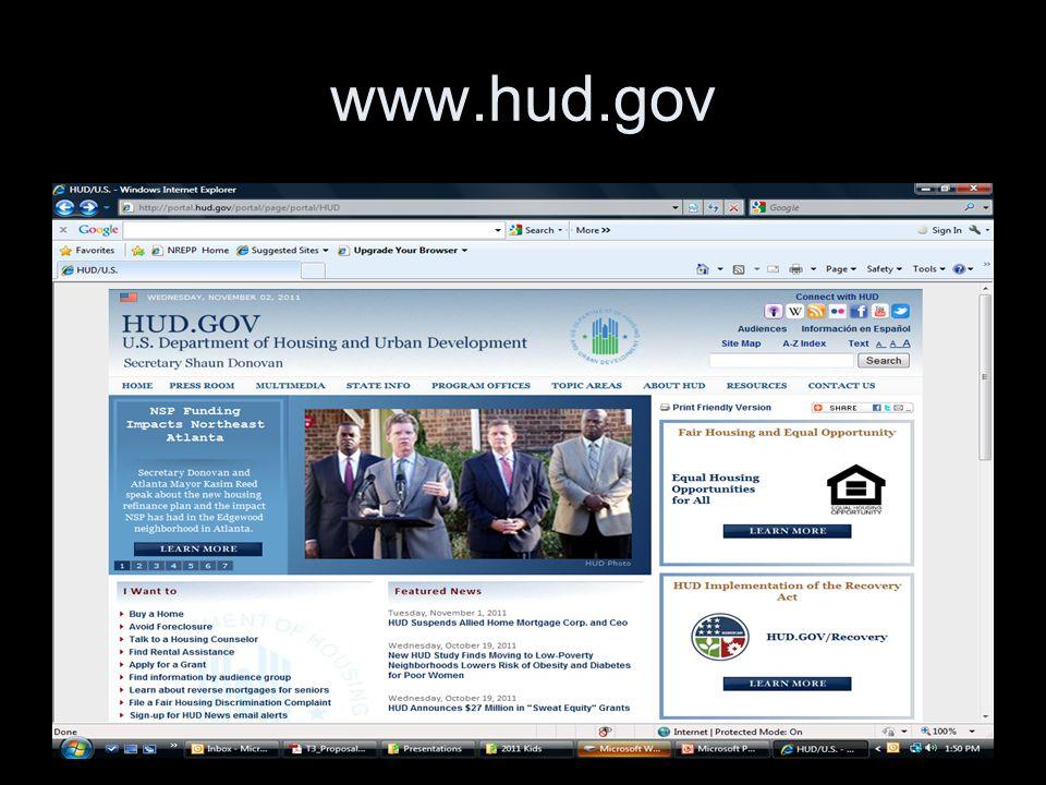 27 www.hud.gov