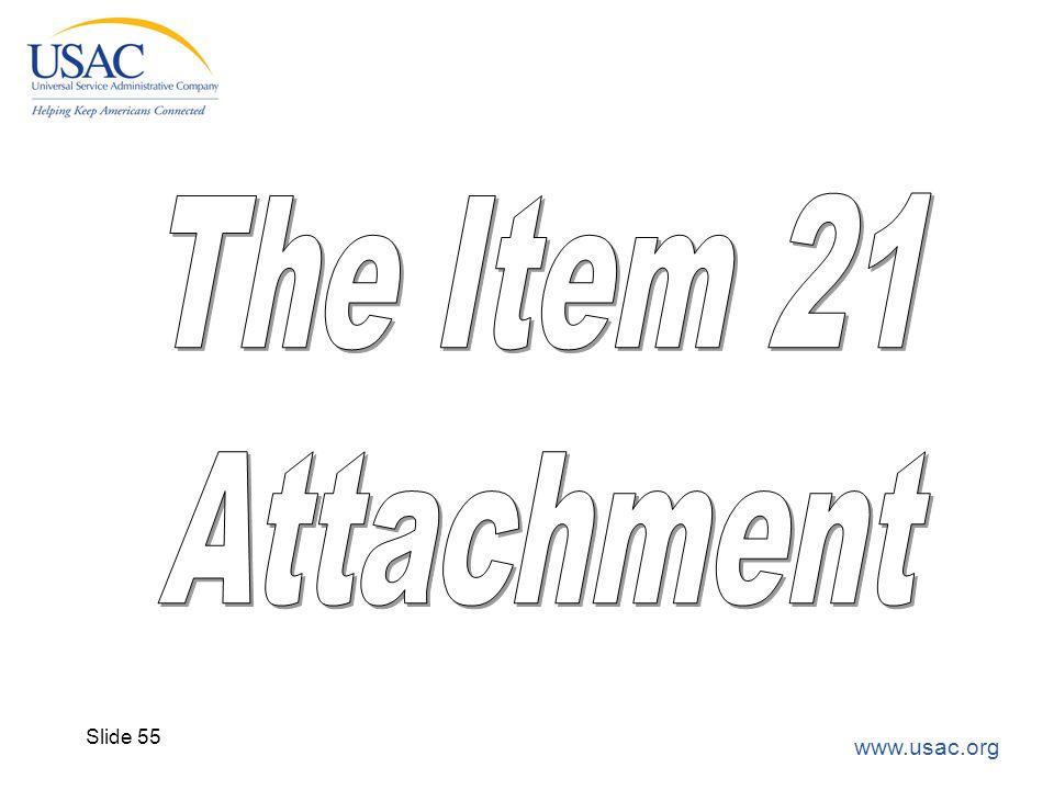 www.usac.org Slide 55