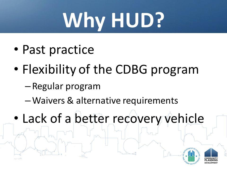 Why HUD.