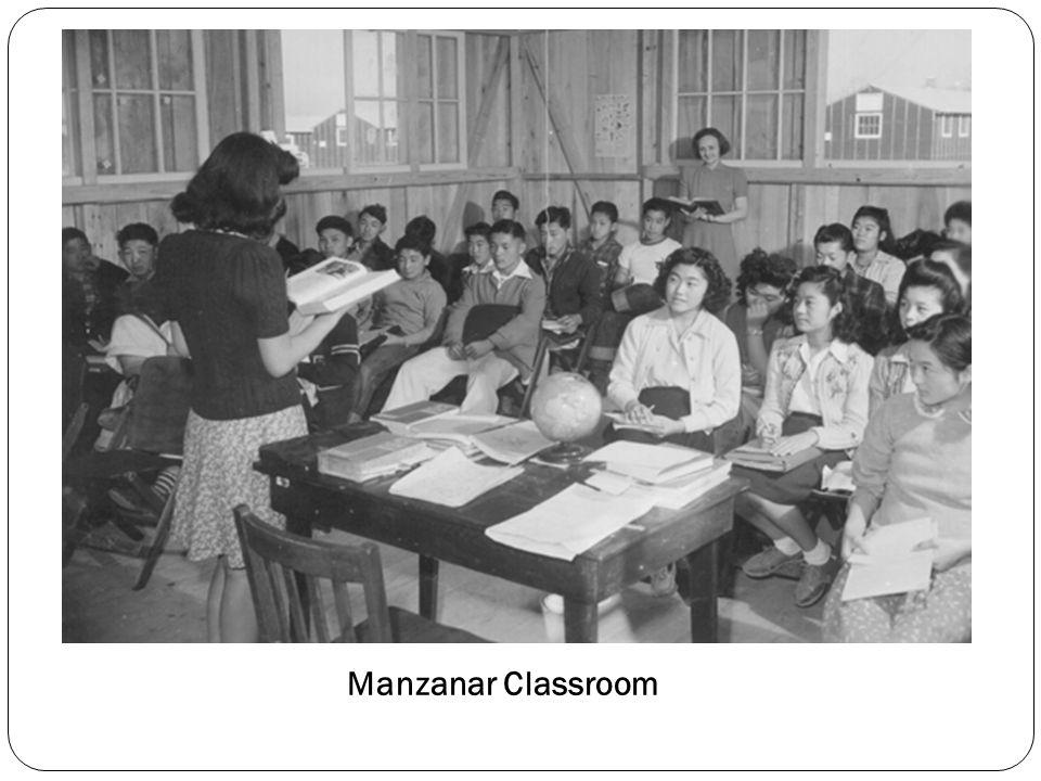 Manzanar Classroom