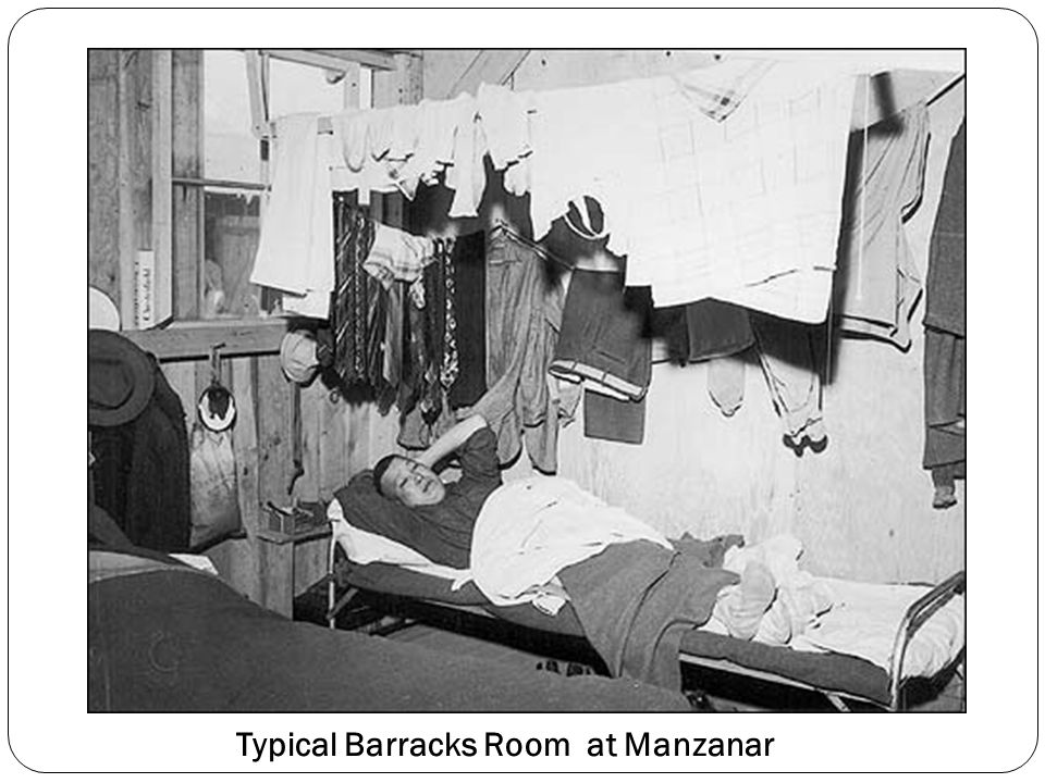 Typical Barracks Room at Manzanar