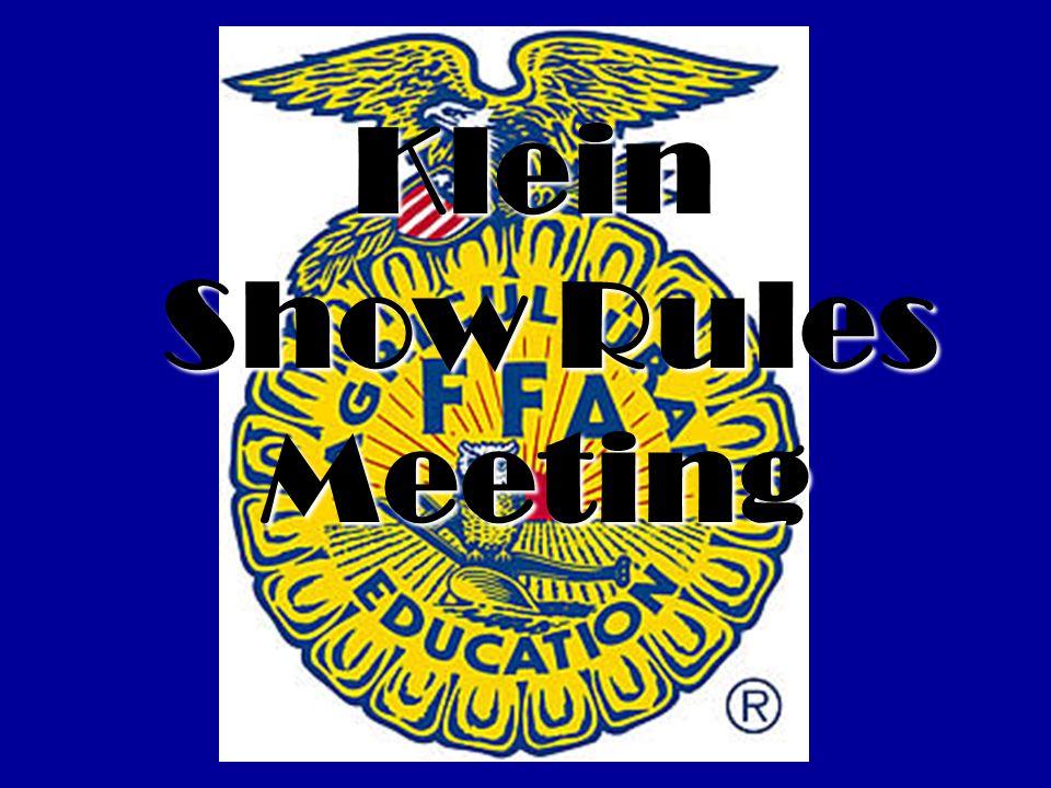 January 5, 2011 Fryer Rabbit pick up at show barn at 2:30- 4:00pm Broiler pickup at show barn at 2:30-4:00pm