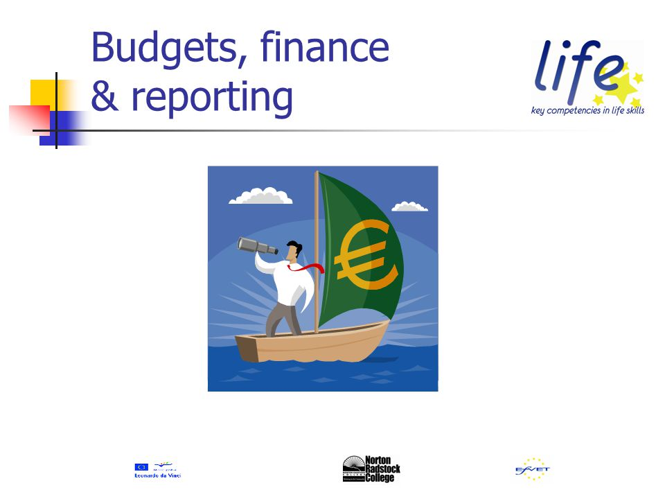 Budgets, finance & reporting