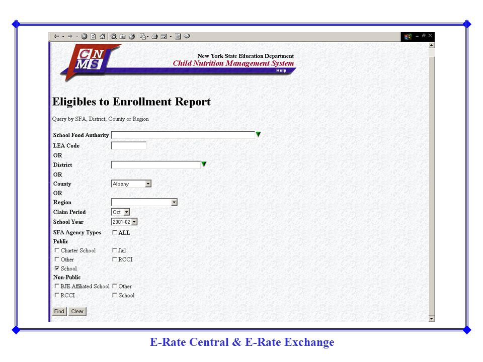 E-Rate Central & E-Rate Exchange