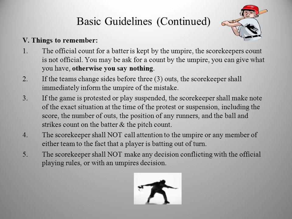 Regular Season Pitching Rules – Baseball VI – Pitchers Page 37 & 38 (2013 Rule Book) a.