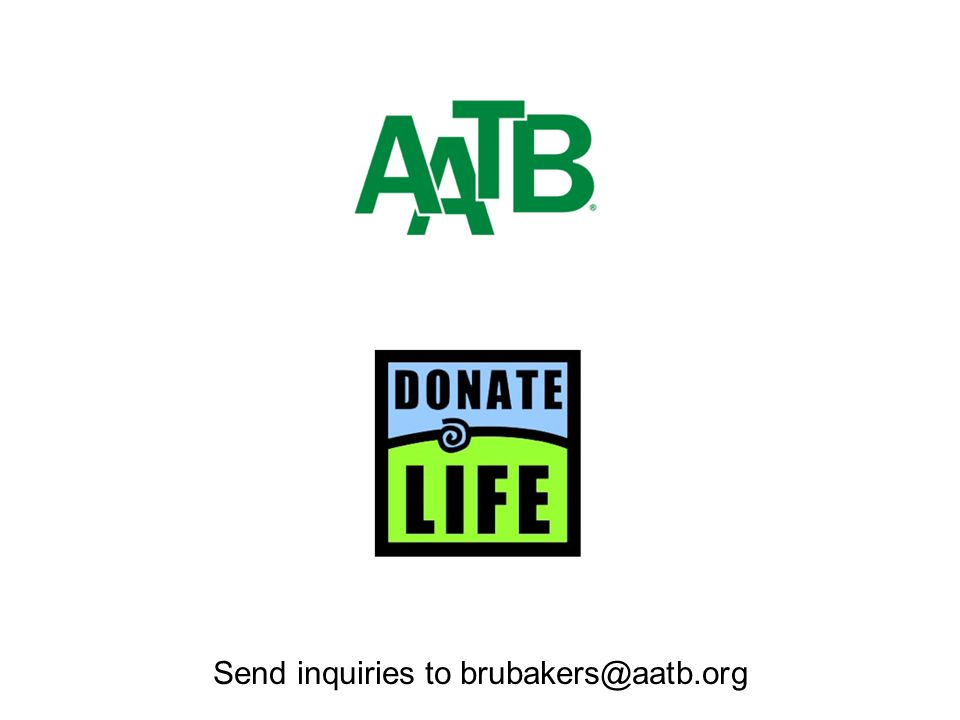 Send inquiries to brubakers@aatb.org