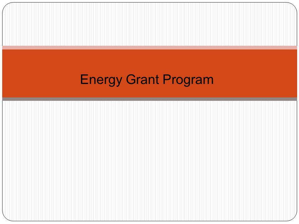 Energy Grant Program