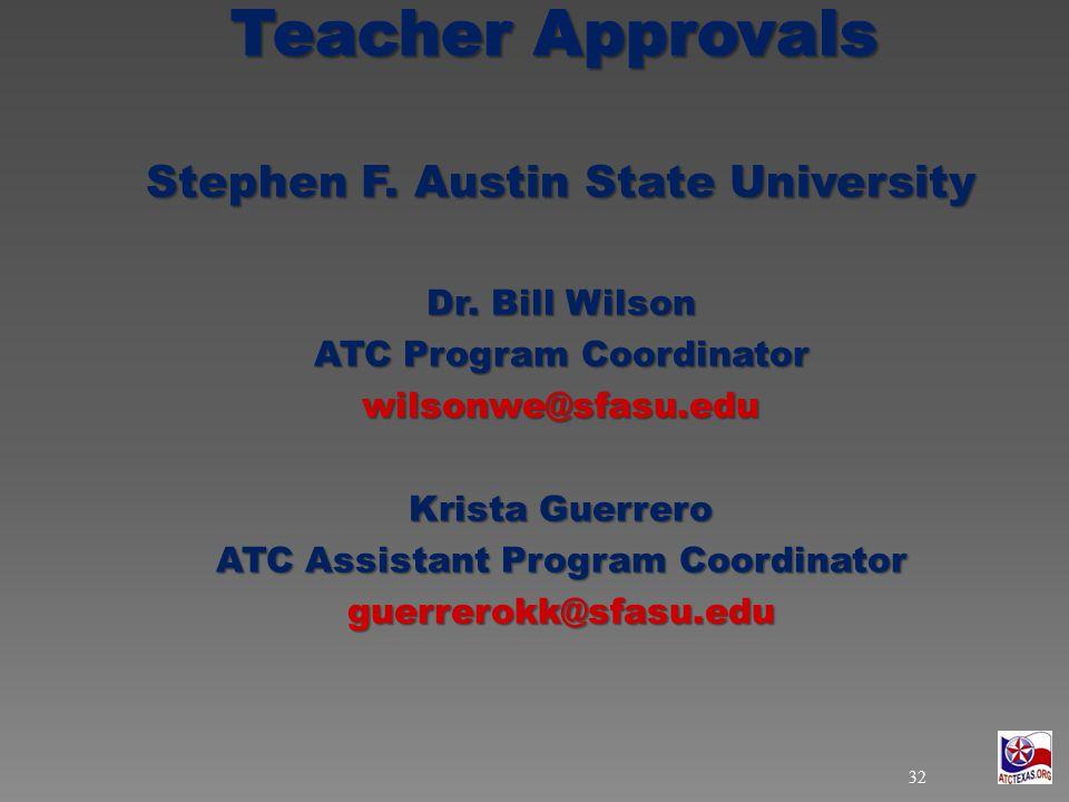 Stephen F. Austin State University Dr.