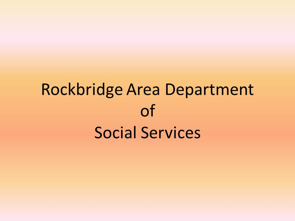 Main Areas of Social Work Eligibility Medicare VIEW SNAP Social Work