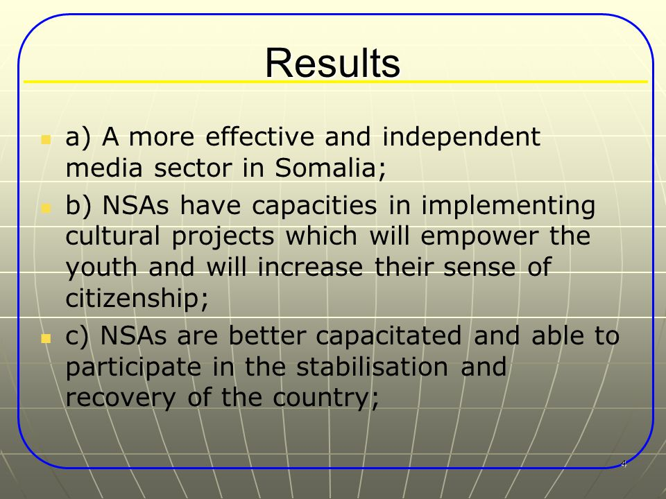 5 Conditions All projects must include an updated local conflict analysis, clearly spelling out the potential drivers for conflict and/or for peace building; Coordination and synergy with earlier and/or similar on-going interventions (including with other stakeholders and UN agencies) should be ensured; The total project expenditure in administrative costs is set at 40%, while 60% should be spent for project activities for the direct benefit of the target communities;