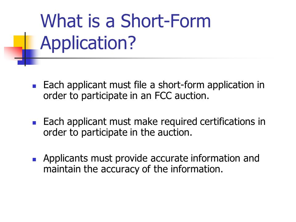 Bidding Credits: How to Establish Eligibility  Determine attributable gross revenues of the applicant and related parties, which include:  the applicant,  its affiliates,  its controlling interests,  affiliates of its controlling interests, and  entities with which it has an attributable material relationship.