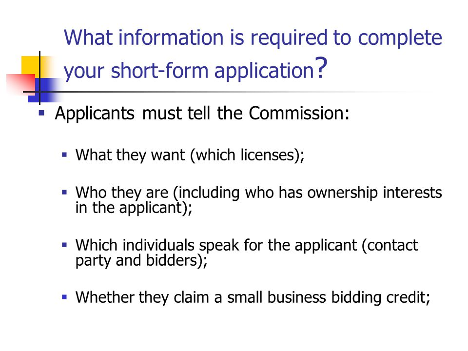 Bidding Credit Eligibility: What is an Affiliate.