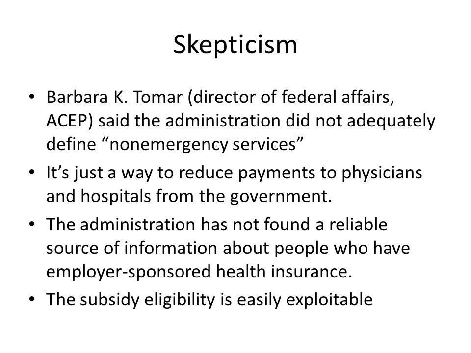 Skepticism Barbara K.