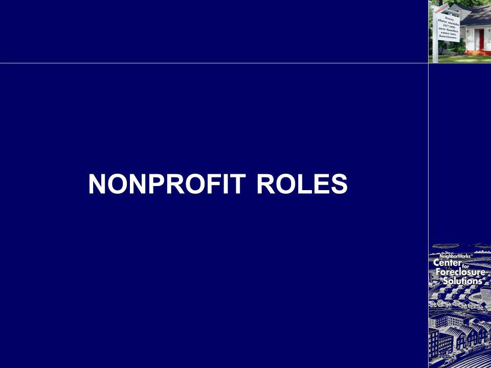 NONPROFIT ROLES