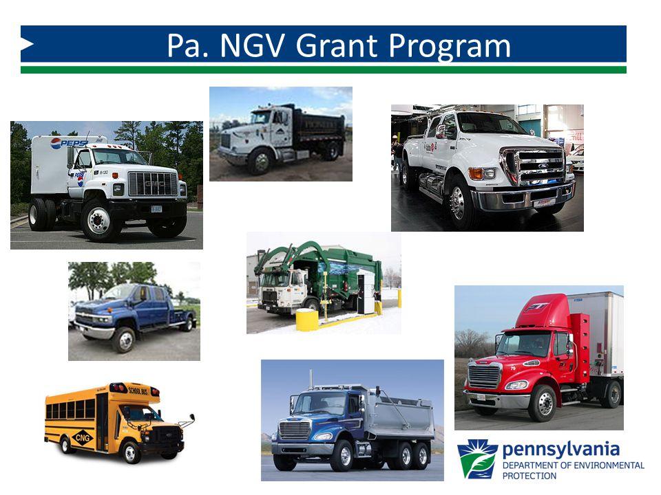 Pa. NGV Grant Program