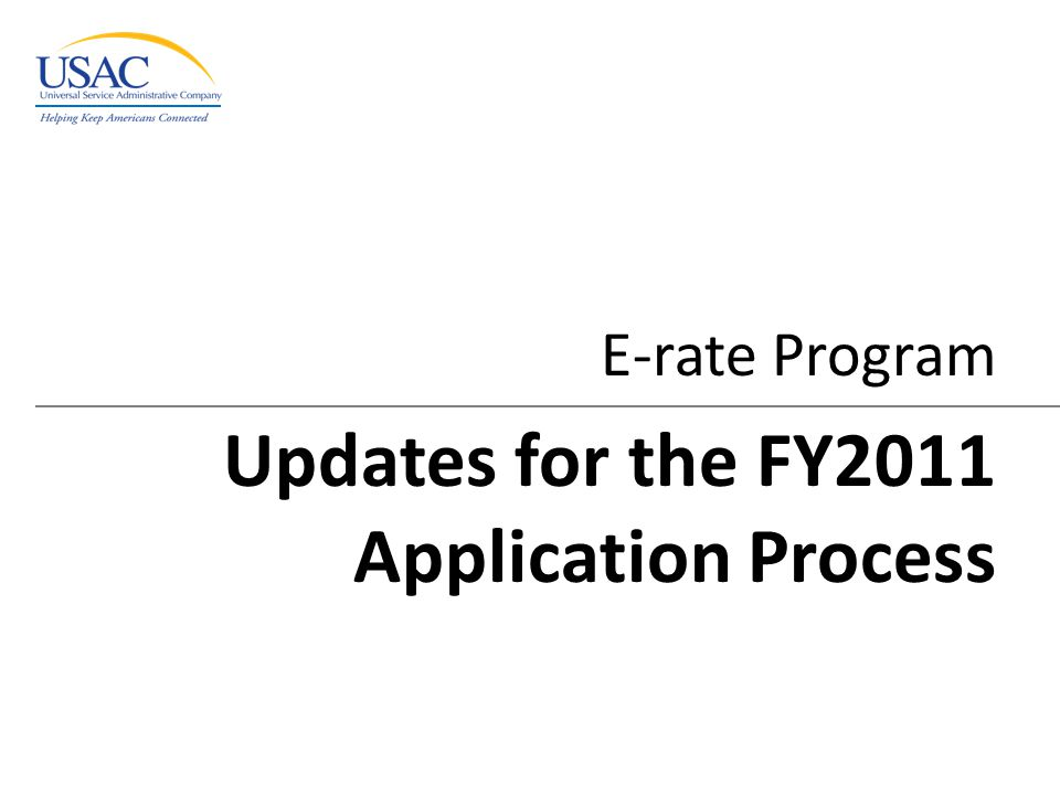 Excerpted from 2010 Schools & Libraries Fall Applicant Trainings 22 Block 5: Certifications and Signature – Some certification language changed – Consultant as authorized person checkbox added (slide 14) Changes to Form 470 (continued) Form 470 - Overview