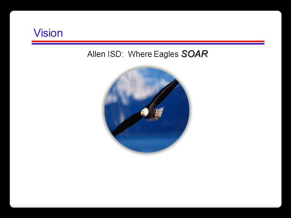 Vision SOAR Allen ISD: Where Eagles SOAR