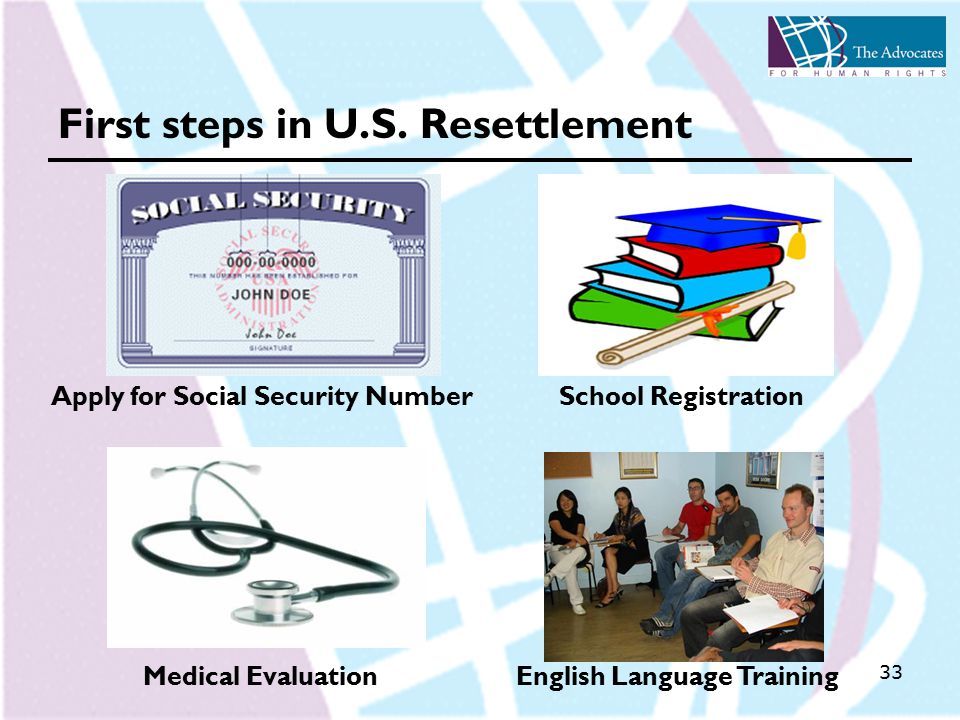 33 First steps in U.S.